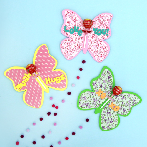 Butterfly Lollipop Gift Card
