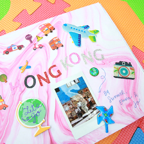Mother's Day DIY Scrapbook with Mommy Nica