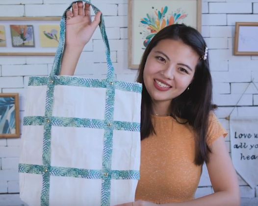 Craft Easy DIY Tote Bag with Kim!